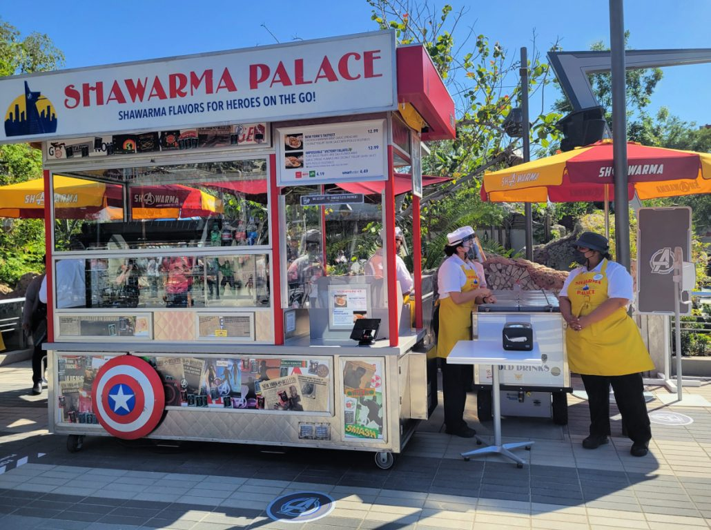 Shawarma Palace ordering kiosk