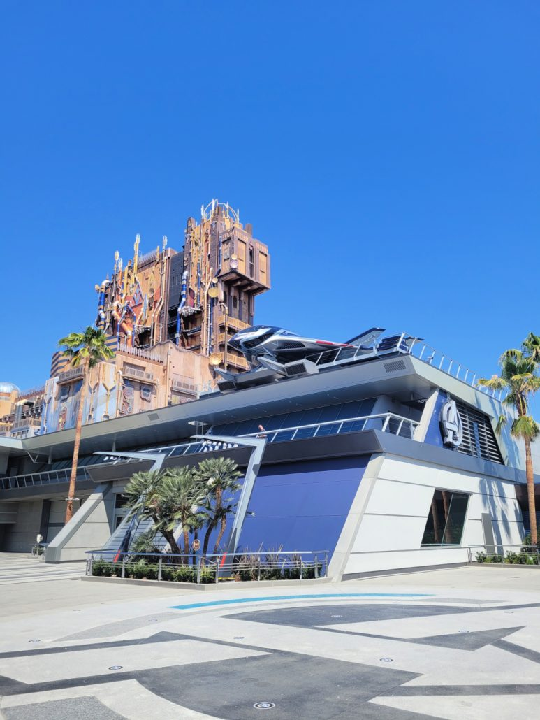 Avengers Headquarters with Guardians of the Galaxy in background