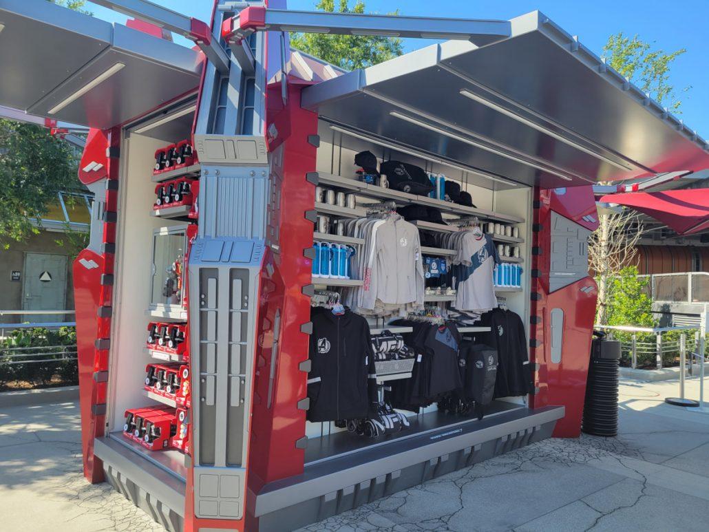 Campus Supply Pod merchandise kiosk