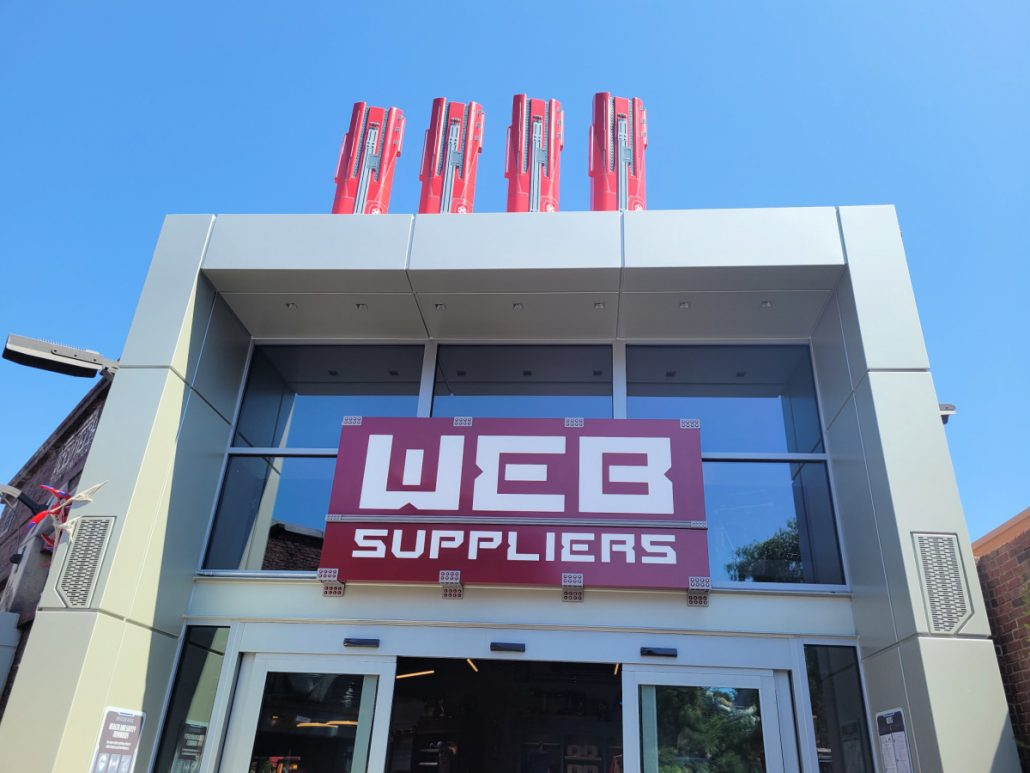 Exterior building for WEB Suppliers