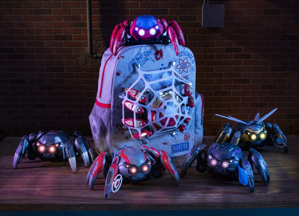 Spider-man merchandise Spider-bots coming to Avengers Campus