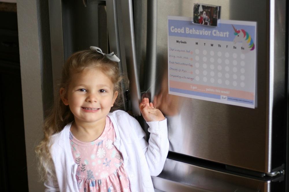 11 Free Printable Behavior Charts for Kids