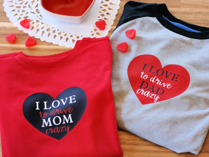 Valentine's Day Cricut T-Shirt Design for Beginners