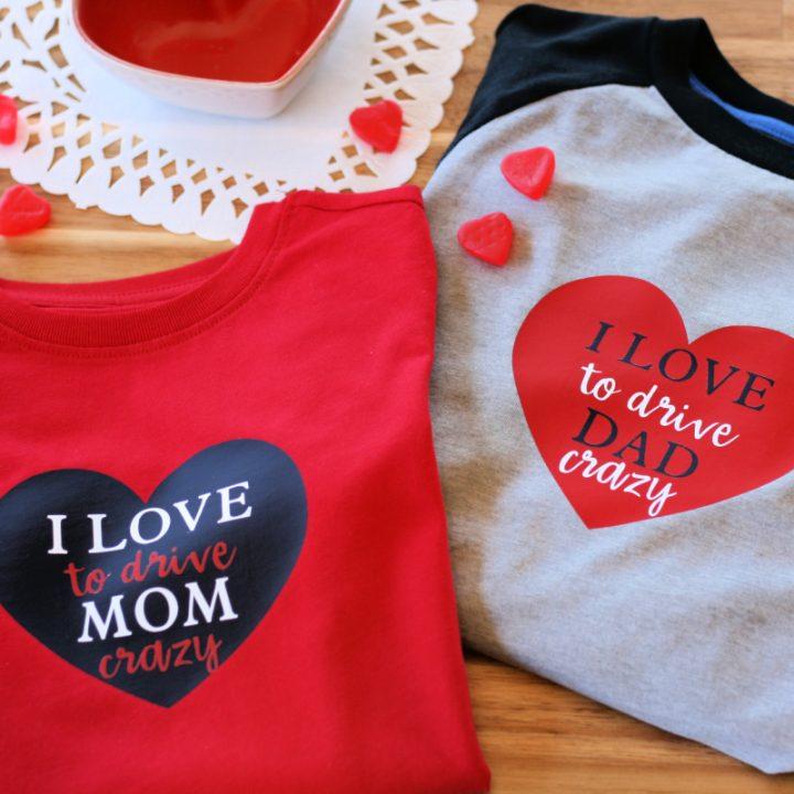 Valentine's Day Cricut T-Shirt Design