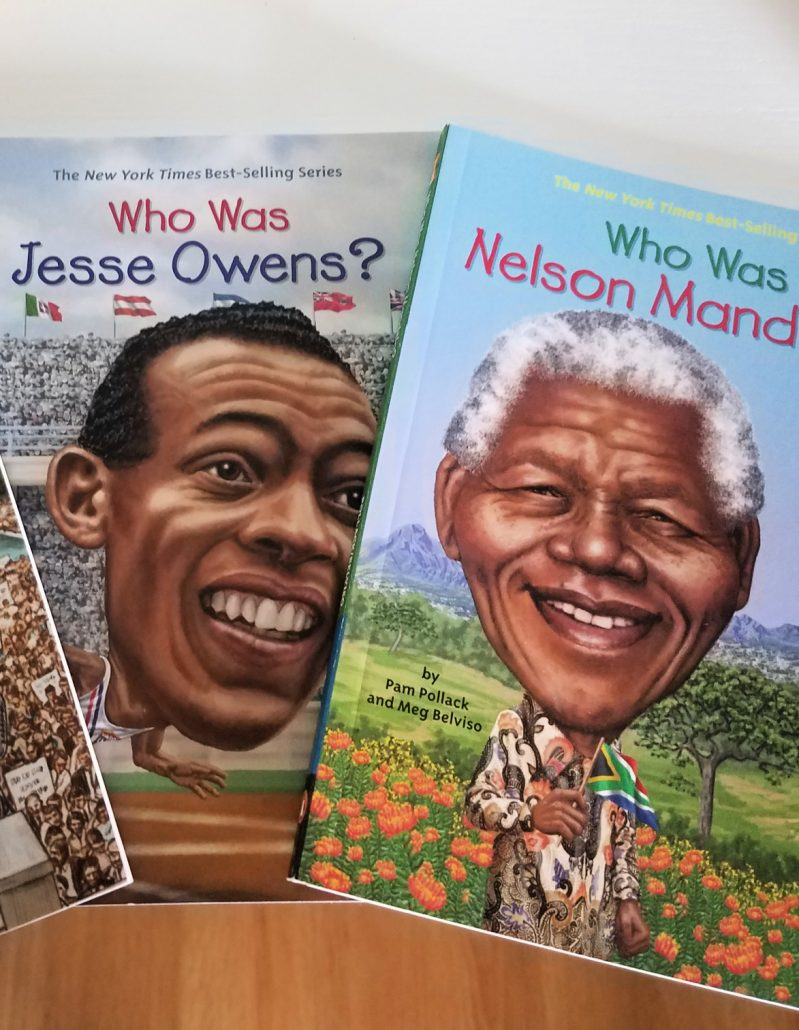 black history month Who Was books