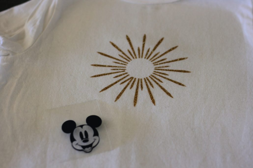 Layers of Mickey Mouse Ferris Wheel Cricut shirt design