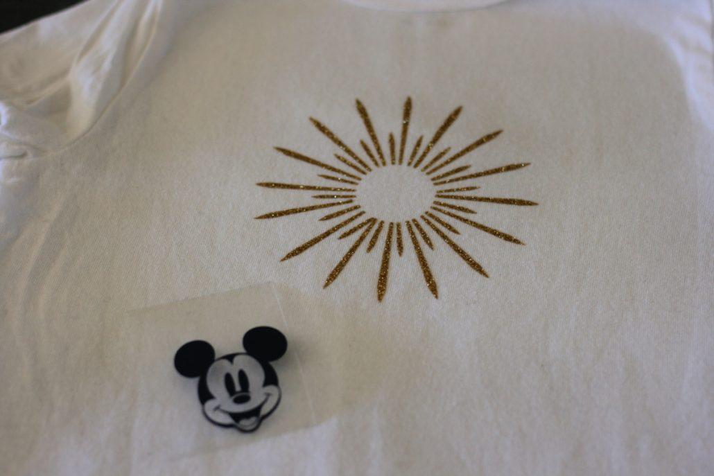 Layers of Mickey Mouse Ferris Wheel Cricut shirt design