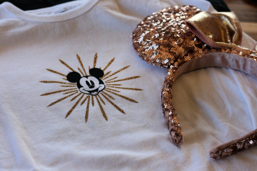 Disney California Cricut shirt in Mickey Ferris Wheel design