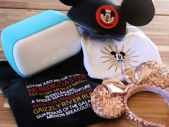 Disney California Cricut Shirt DIY Designs