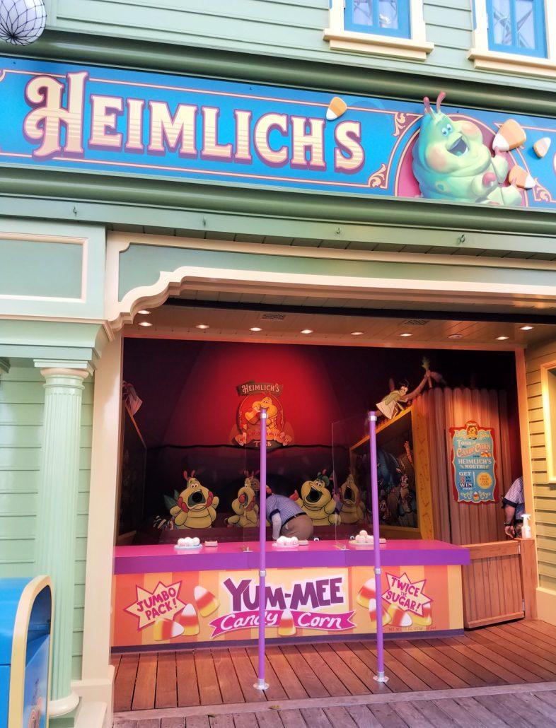 Carnival Games of Pixar Pier