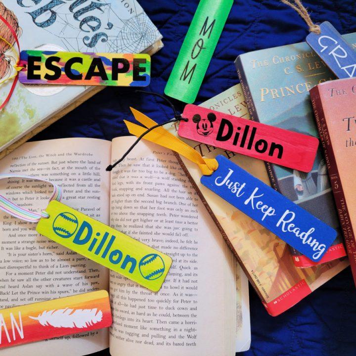 Cricut Designed Bookmarks